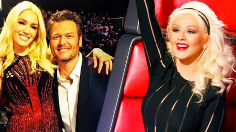 Christina Aguilera Sounds Off On Blake Shelton And Gwen Stefani's Relationship | Country Music Videos
