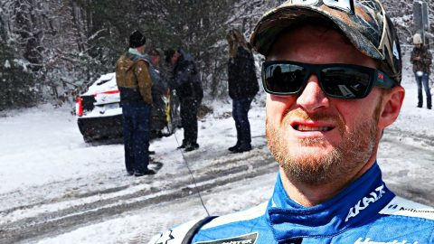 Dale Jr. Rescues Police From Winter Storm | Country Music Videos