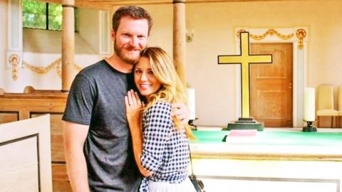 Dale Jr. Reveals The Truth Behind His 'Marriage' Photo | Country Music Videos