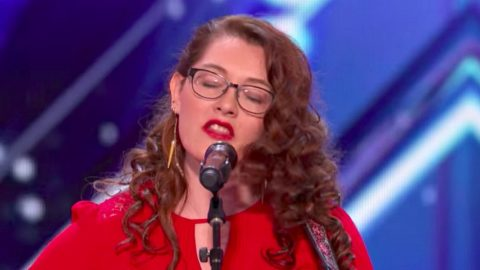 Deaf Singer Earns 'America's Got Talent' Golden Buzzer After Jaw-Dropping Performance | Country Music Videos