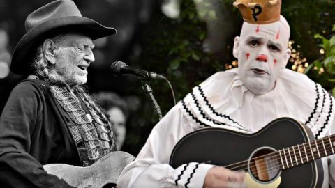 Depressed Viral Clown Gives Remarkable Cover Of Willie Nelson Classic   Country Music Videos
