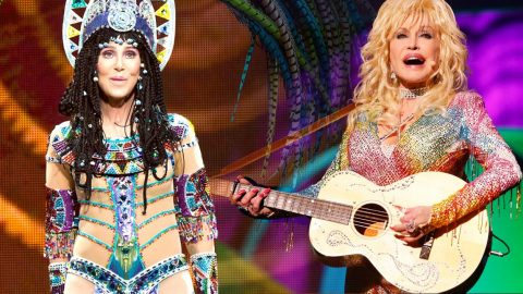 Dolly Parton Shows Her Angelic Nature In Bizarre 'Heaven & Hell' Duet With Cher   Country Music Videos