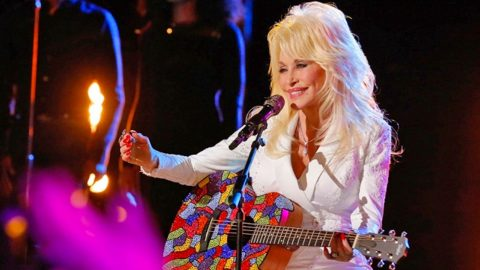 Dolly Parton's SEXY New Song 'Outside Your Door' Will Have You Begging For More | Country Music Videos