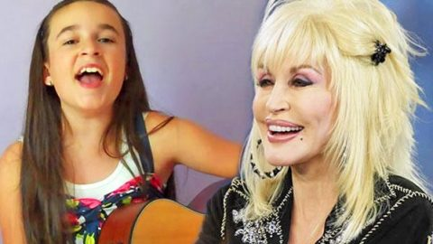 "11-Year-Old Girl Wows With Stunning Cover Of Dolly Parton's ""Jolene"" 