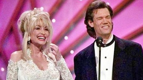 Dolly Parton Sneaks Up On Randy Travis, And His Reaction Is Priceless   Country Music Videos