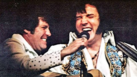 Elvis Laughs Hysterically During A Live Concert, But You'll Never Guess Why!   Country Music Videos