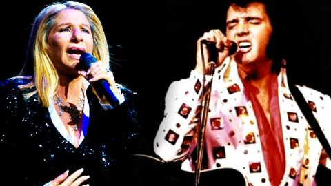 Hear Elvis Presely & Barbra Streisand's Chilling 'Love Me Tender' Duet | Country Music Videos