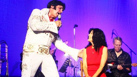 Husband Completes Dying Wife's Bucket List By Performing As Elvis | Country Music Videos