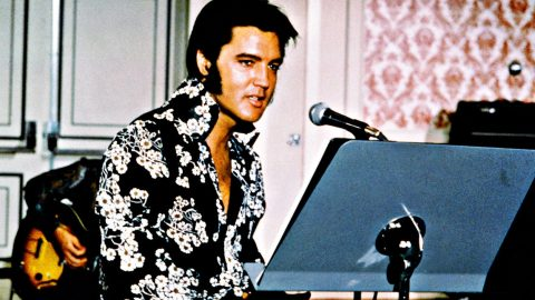 Elvis Presley's Home Recording Of 'She Thinks I Still Care' Is Pure Heartbreak | Country Music Videos