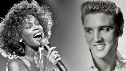 Whitney Houston Reminisces On The Time She Met Elvis Presley | Country Music Videos