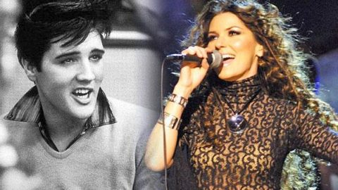 """Shania Twain Covers Elvis Presley's """"I Want You, I Need You, I Love You"""" (VIDEO)   Country Music Videos"""