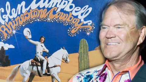 """Glen Campbell Reveals 40 Year Old, Unreleased Song, """"Quits"""" 