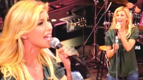 Faith Hill – Red Umbrella (LIVE) | Country Music Videos