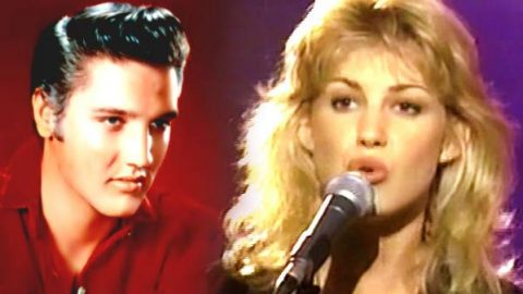 Faith Hill – Trying To Get To You (Elvis Tribute Show 1994) | Country Music Videos
