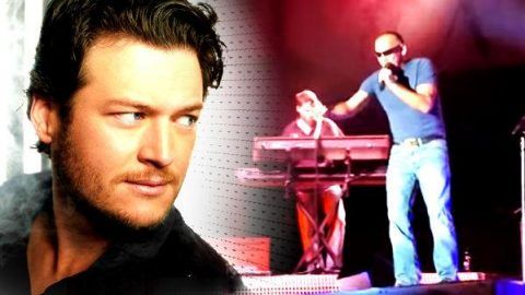 Fan Showing Up Blake Shelton At The 2010 Colorado State Fair?! | Country Music Videos