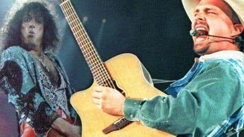 Garth Brooks & Kiss – Hard Luck Woman (VIDEO) | Country Music Videos