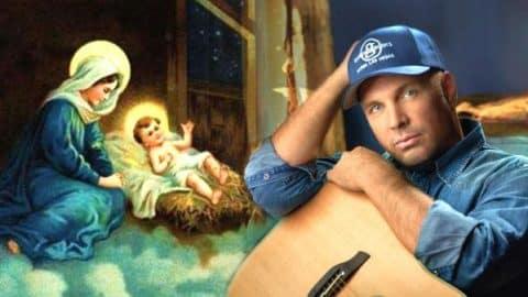 Garth Brooks Baby Jesus Is Born Video Country Rebel