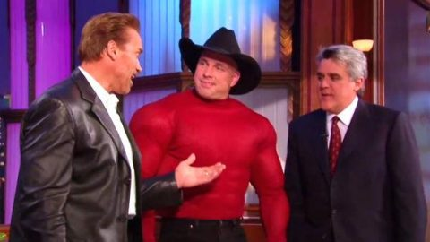 Garth Brooks' Retrospective Reel – The Tonight Show with Jay Leno (VIDEO) | Country Music Videos