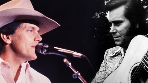 RARE: Young George Strait Honors The Possum In LIVE 1982 Recording | Country Music Videos