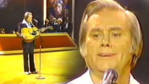 George Jones – I'm A Survivor (Live) | Country Music Videos