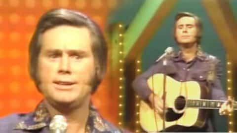 George Jones – The Door (Live) | Country Music Videos