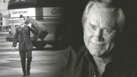 George Jones – The Love In Your Eyes | Country Music Videos
