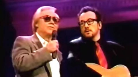 George Jones and Elvis Costello – Stranger In The House (VIDEO) | Country Music Videos
