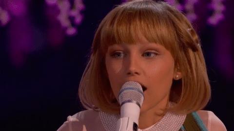 Grace VanderWaal Brings Judges To Their Feet During 'America's Got Talent' Finale   Country Music Videos