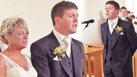 Groom Takes The Mic At His Wedding, And What He Does Will Give You Chills | Country Music Videos