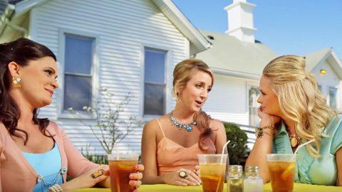 Miranda Lambert's Grandma Chugs Out Of A Flask In Music Video For 'Hush Hush' | Country Music Videos