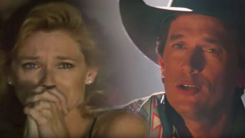 George Strait Sings 'I Cross My Heart' In The Final Scene Of 'Pure Country' | Country Music Videos