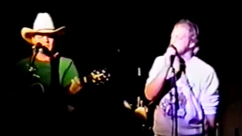 Eddie & John Michael Montgomery Cover Keith Whitley Tune In Rarely Seen Home Movie | Country Music Videos