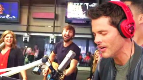 James Marsden sings Garth Brooks' Friends In Low Places | Country Music Videos