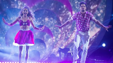 Jana Kramer Wins 'Dancing With The Stars' Face-Off Round With Sassy Jive   Country Music Videos