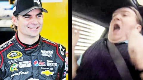 NASCAR's Jeff Gordon's Test Drive Prank Terrifies Car Salesman   Country Music Videos