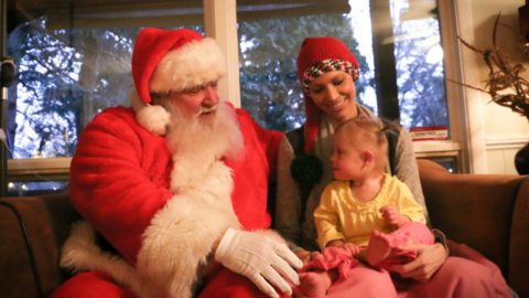 Santa Visits Joey+Rory | Country Music Videos