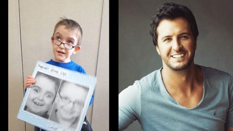 Third-Grader With Cerebral Palsy Makes A Heartfelt Plea To Luke Bryan | Country Music Videos