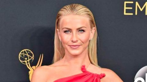 Julianne Hough Gets Called Out On Emmy Red Carpet | Country Music Videos