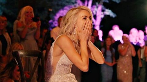 Julianne Hough S Reaction To Wedding Surprise Is Worth