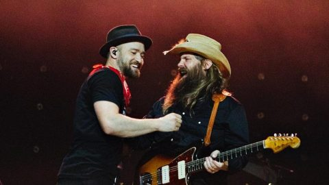Chris Stapleton And Justin Timberlake Reunite For Encore Performance Of 'Tennessee Whiskey' | Country Music Videos