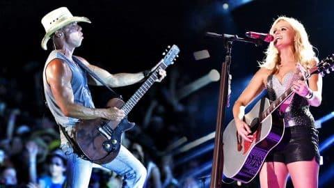 Fans Scream As Kenny Chesney & Miranda Lambert Unleash Slow 'n Sultry Duet | Country Music Videos