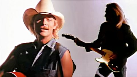 Young Keith Urban Sports Extra Long Hair In 1994 Alan Jackson Video | Country Music Videos