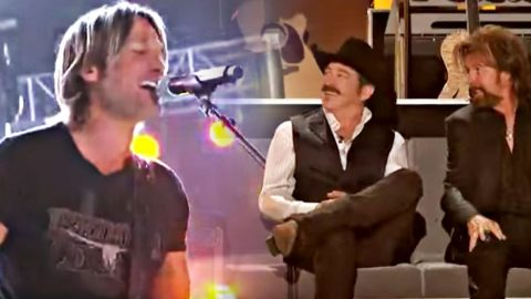 Keith Urban's Cover Of 'Brand New Man' Puts Smiles On Brooks & Dunns' Faces | Country Music Videos