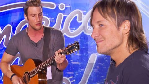Broadway Actor Impresses Keith Urban With His Own Hit Song | Country Music Videos