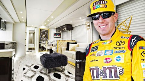 Kyle Busch Just Dropped A Fat Wad Of Cash On This Custom Bus | Country Music Videos