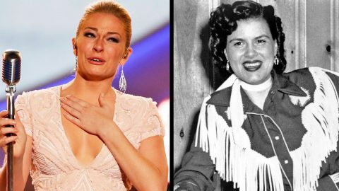 LeAnn Rimes Stuns With Tear-Filled Tribute To Patsy Cline | Country Music Videos