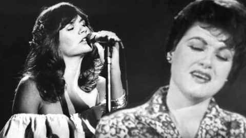 Linda Ronstadt's Almost-Forgotten Cover Of Patsy Cline Is Utterly Chilling | Country Music Videos