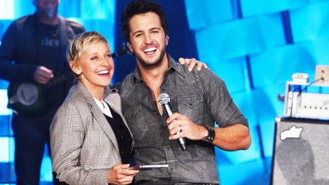 Hilarious! Luke Bryan Tells Ellen ALL ABOUT His Tight Jeans And Underwear   Country Music Videos
