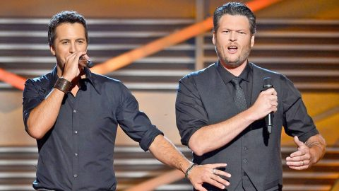 Blake Shelton REALLY Doesn't Want Luke Bryan To Meet His New Girlfriend | Country Music Videos