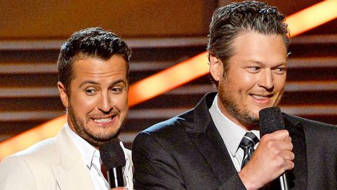 Luke Bryan Can't Remember The Words To Blake Shelton's 'Boys 'Round Here' | Country Music Videos